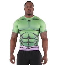 ** INCREDIBLE HULK ** Under Armour Men's Alter Ego Compression Shirt All Sizes