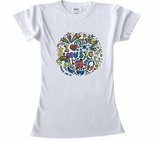 T-Shirts to colour in for Teenage Girls all sizes girls craft Music