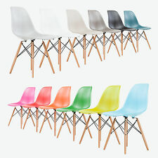 Eames Inspired Eiffel Plastic DSW Lounge Dining Chairs - Retro - Panton Stuhl