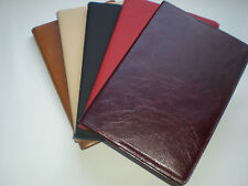 Real Leather Notebook Journal, book, cover, leather, sketch, diary, note book