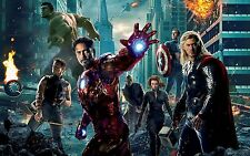 NEW THE AVENGERS MOVIE WALL ART PRINT PREMIUM POSTER