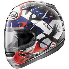 Arai RX-Q Flame Red / White /Blue Full Face Motorcycle Helmet