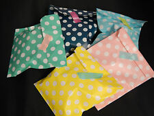 25 POLKA DOT SWEET FAVOURS PARTY PAPER BAGS BIRTHDAY WEDDING RETRO VINTAGE