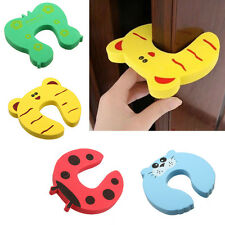 1/4/10pcs Baby Safety Stop Door Finger Pinch Guard Lock Jammer Stopper Protector