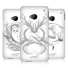 HEAD CASE FLOURISHING CALLIGRAPHY HARD BACK CASE COVER FOR HTC ONE