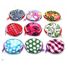 Cute Lovely Mini Purse Coin Bag Case Wallet with Keyring Multicolor