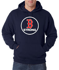 Boston Strong Pullover Hoodie Sweat Shirt B Strong Red Sox Boston Marathon S-5XL