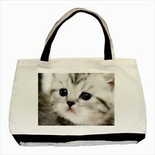 Small Kitten / Cat - Tote or Recycle Bags (9 Options) -TU4751
