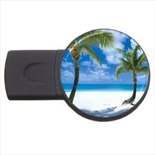 Coco Point Beach Scenery - Round USB Flash Drive (3 Sizes) -PP4292