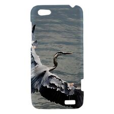 Blue Heron Bird - Hard Case for HTC Cell (30 Models) -OP4146
