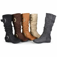 Brinley Co. Women Slouchy Wide Calf Boots