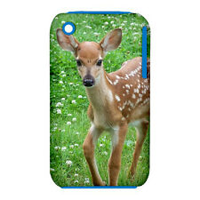 Fawn - Bambi- Deer Design -Silicone & Hard Case for iPhone 3/3GS(UU4397)