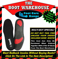 Free Postage Red Ins - Free Post Only Applies When Combined With Boot Purchase!