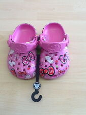Girls Hello Kitty Crocs