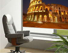 RB89 - THE COLOSSEUM AT NIGHT ROME PRINTED PHOTO PICTURE ROLLER BLIND