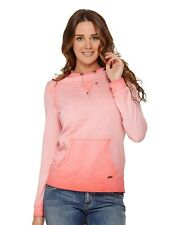 Roxy Hood Pullover Sweater Small Saltwater
