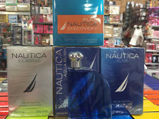 NAUTICA BLUE VOYAGE CLASSIC AQUA RUSH  COTY 3.3 3.4OZ / 100 ML EDT SPRAY NIB MEN