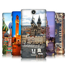 HEAD CASE DESIGNS CITY SQUARES HARD BACK CASE COVER FOR SONY XPERIA TX LT29i