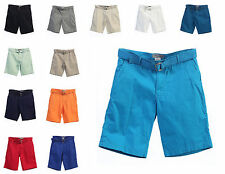 "New ""Studio 10"" Mens Short With Belt 100 % Cotton, High Quality, Style# CS-90"