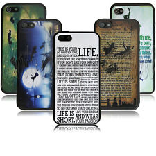 Peter Pan Quotes desgin Durable case for Apple iphone 4 4s PC+TPU A0126