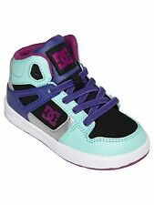 DC TODDLER GIRLS REBOUND UL SHOES NIB MINT       (333)