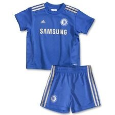 Chelsea FC Adidas home baby children football shirt shorts set 2012-13 W38460