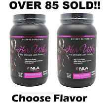 NLA For Her Whey Protein Any Flavor - FREE SHIPPING - ALL NLA Product
