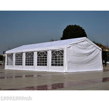 Outsunny Party Tent Wedding Carport White Canopy Waterproof Sidewall