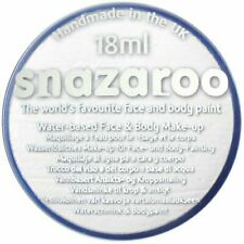 Snazaroo 18ml WHITE FACE PAINT Fancy Dress Party Stage MakeUp