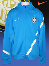 NIKE INTER MILAN Football Tracksuit Jacket Turquoise L Youth Age 12-15