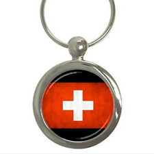 Switzerland Grunge Flag - Key Chain (7 Styles) - ii4978