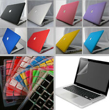 """3in1 11 Color Rubberized Frosted Hard Case Cover For Macbook Pro 13""""/13.3inch"""