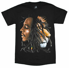 Bob Marley Lion Profile Official Licensed Adult T-Shirt