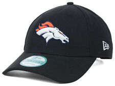 Denver Broncos New Era 940 Black Adjustable NFL Football Hat Cap Lid Polyester