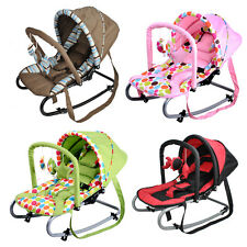 New Grace Baby Harmony New Born Baby Rocker Bouncer Seat with Canopy & Toys