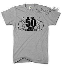 It Took 50 Years To Look This Good Funny Tshirt Novelty Birthday 50th Top Gift