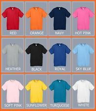 TODDLER PLAIN BASIC TEE SHIRT FOR BOYS AND GIRLS SIZE -  2T, 3T, 4T, 5T
