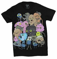 Adventure Time With Finn And Jake Zombie Group Official Men's Adult T-shirt