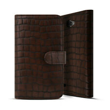 Genuine Leather Diary Wallet Phone Case Purse Flip Cover Card Holder Handmade MI