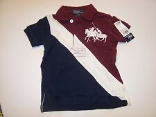NEW POLO RALPH LAUREN DUAL big pony shirt baby infant toddler boys