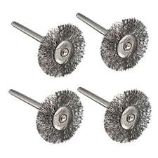 3/6/9pcs Steel Wire Wheel Brushes Cup Rust Rotary Tools For Dremel Accessories