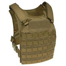 FAST ATTACK MOLLE PLATE CARRIER GEN 1 FLYYE INDUSTRIES TACTICAL VEST COYOTE TAN