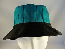 Vintage Bucket Hat Teal Black Universal Industries