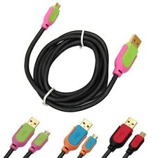 4.2FT Thick Micro USB 2.0 Data Sync Cable Charger for Samsung Galaxy S2 S3 S4 S5
