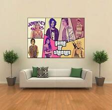 GTA Game Of Thrones Crossover GIANT WALL POSTER ART PRINT C013