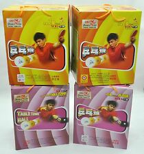DOUBLE FISH TABLE TENNIS BALL - 100 BALL PACK - 1 STAR & NON STAR TRAINING BALL