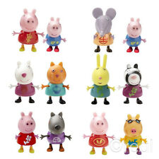 New Peppa Pig Theme Park Figures Twin Packs George Danny Dog Pedro Pony Official