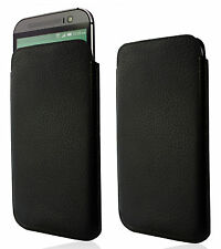 Genuine Leather Case Soft Slim Pouch Etui Sleeve Cover Design Real Wallet Shell