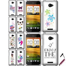 FOR HTC DROID DNA 6435 INCREDIBLE X Cool Turtles Butterfly HARD Case Cover+ Pen