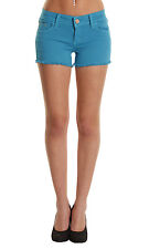 NEW LADIES WOMEN SUMMER LOW WAISTED RIPPED HEM SHORTS DENIM HOT PANTS 8 10 12 14
